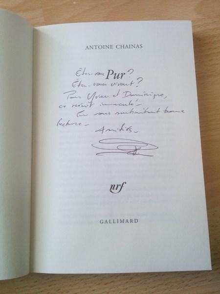 Antoine Chainas Pur