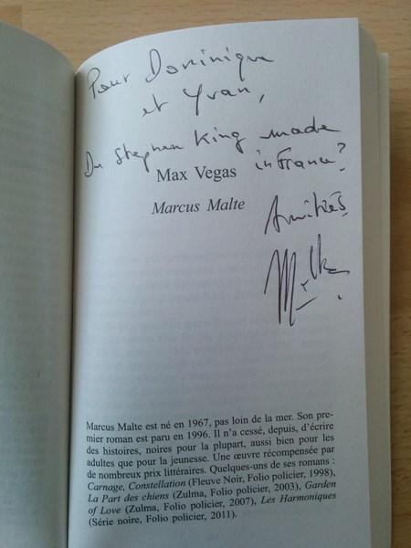 Marcus Malte Max Vegas