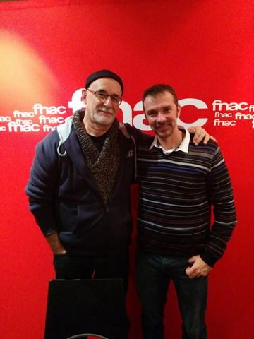 Franck Thilliez Ian Manook Fnac Strasbourg 2014
