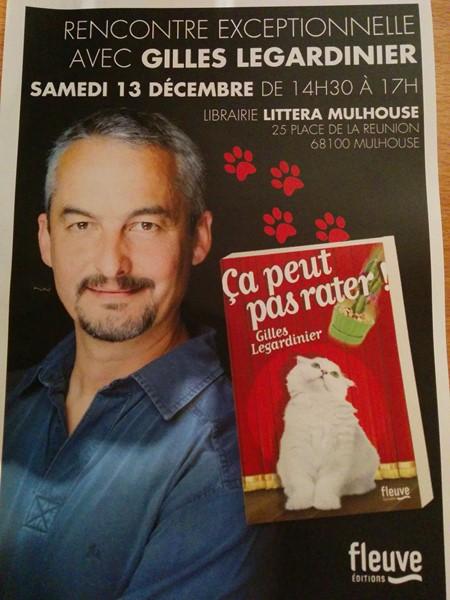 Gilles Legardinier Littera 2014
