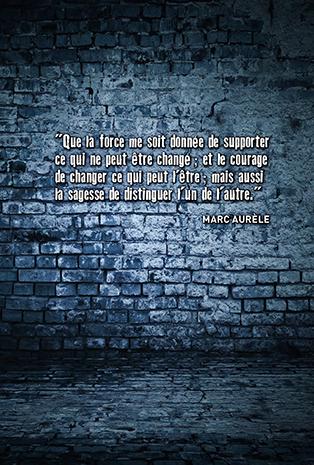w3 le mal par le mal Marc Aurèle