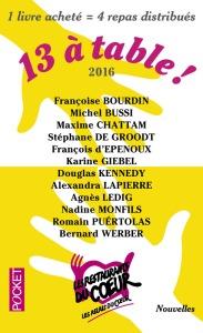 13 à table 2016