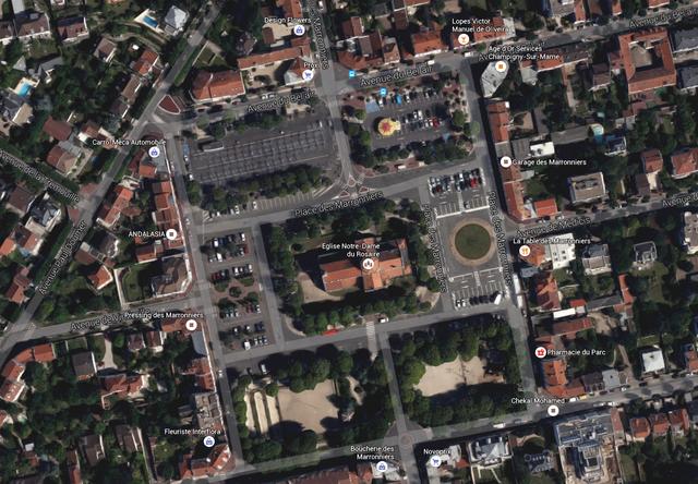 Place des Marronniers - Saint-Maur des fossés